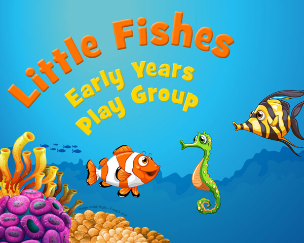 Little Fishes postcard advertisement